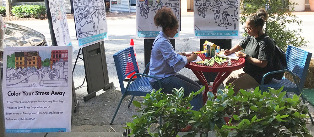 MCDOT sponsors free PARK(ing) Day celebration