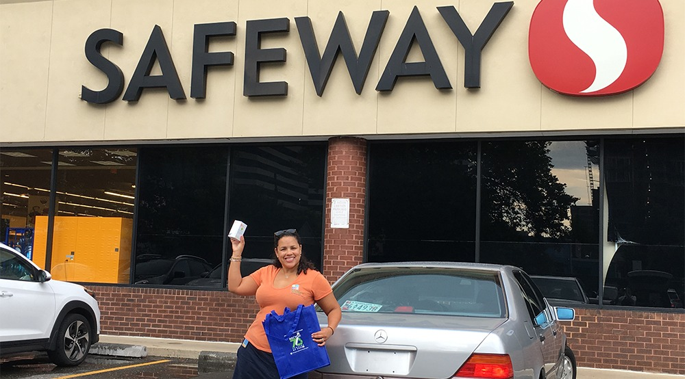 "DEP and Safeway want you to ""Lighten Your Load"""