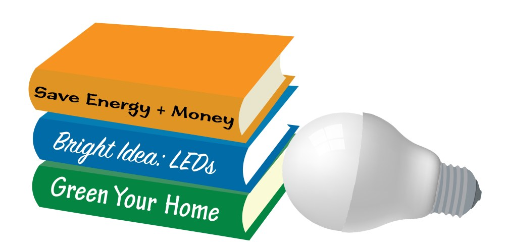 Books and Bulbs Slider