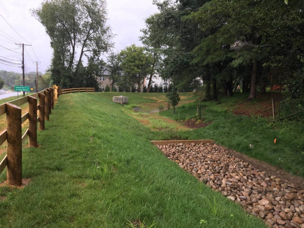 Potomac Ridge Stormwater Pond Retrofit Project
