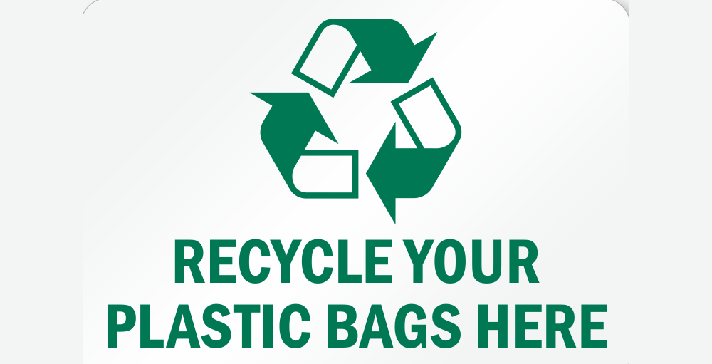 Recycle your plastic bags