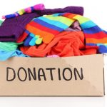 Clothing Pile Donation