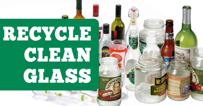 Recycle clean glass