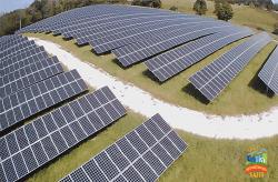 Neighborhood Sun solar field