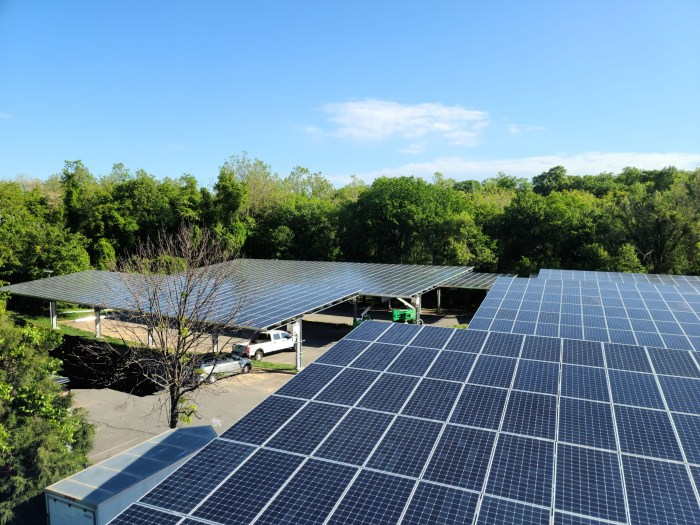 Tower Solar Carport